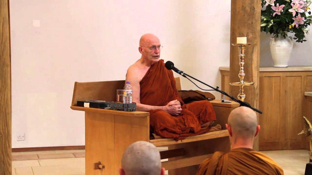 Ajahn Sumedho, discorso di Dharma in occasione dei suoi 80 anni