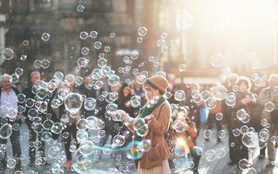 Ep. 83 Meditazione per osservare i pensieri come bolle