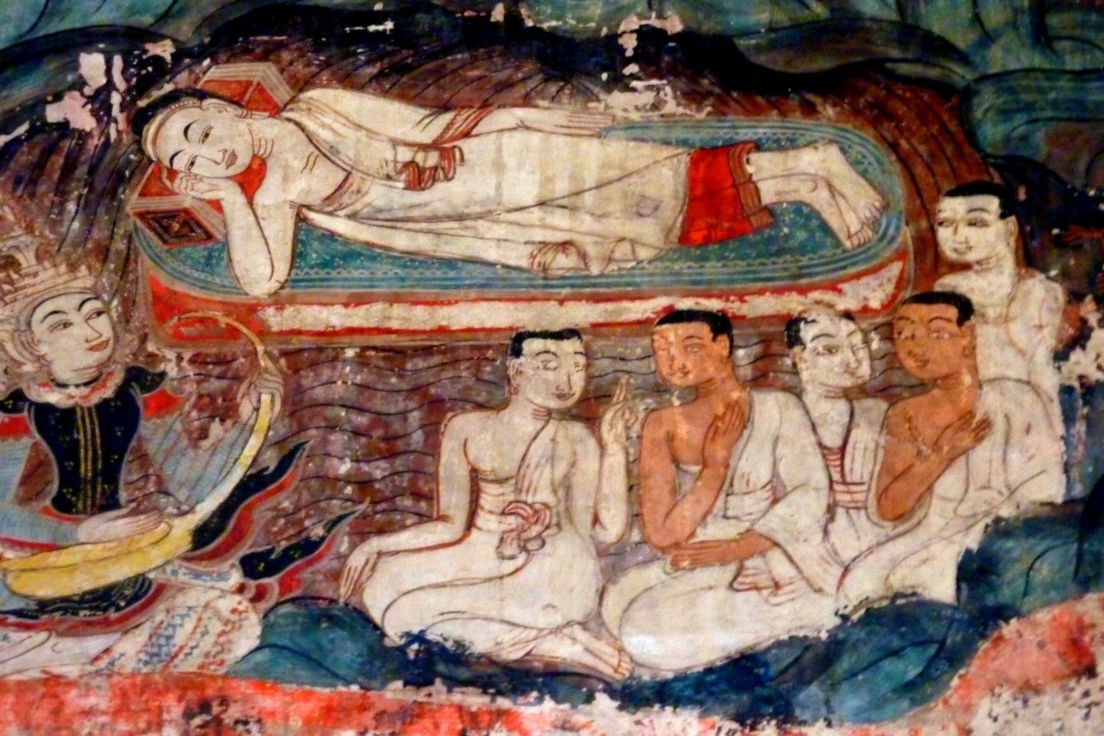 Buddha nel parinibbana