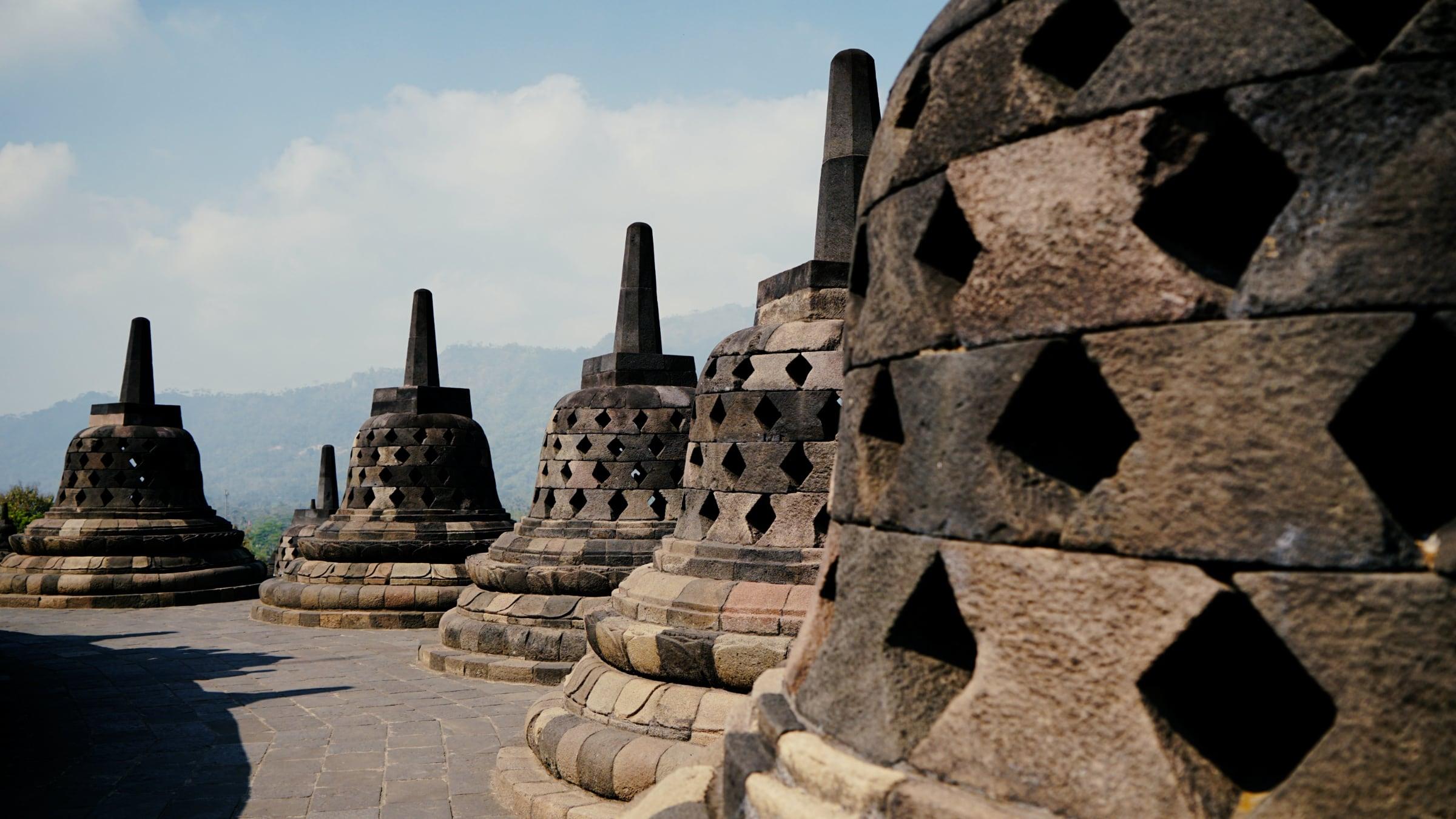 infinite stupa