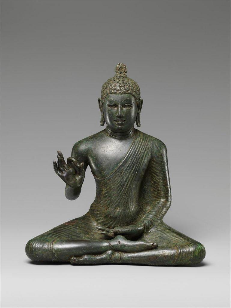Buddha che espone il Dharma