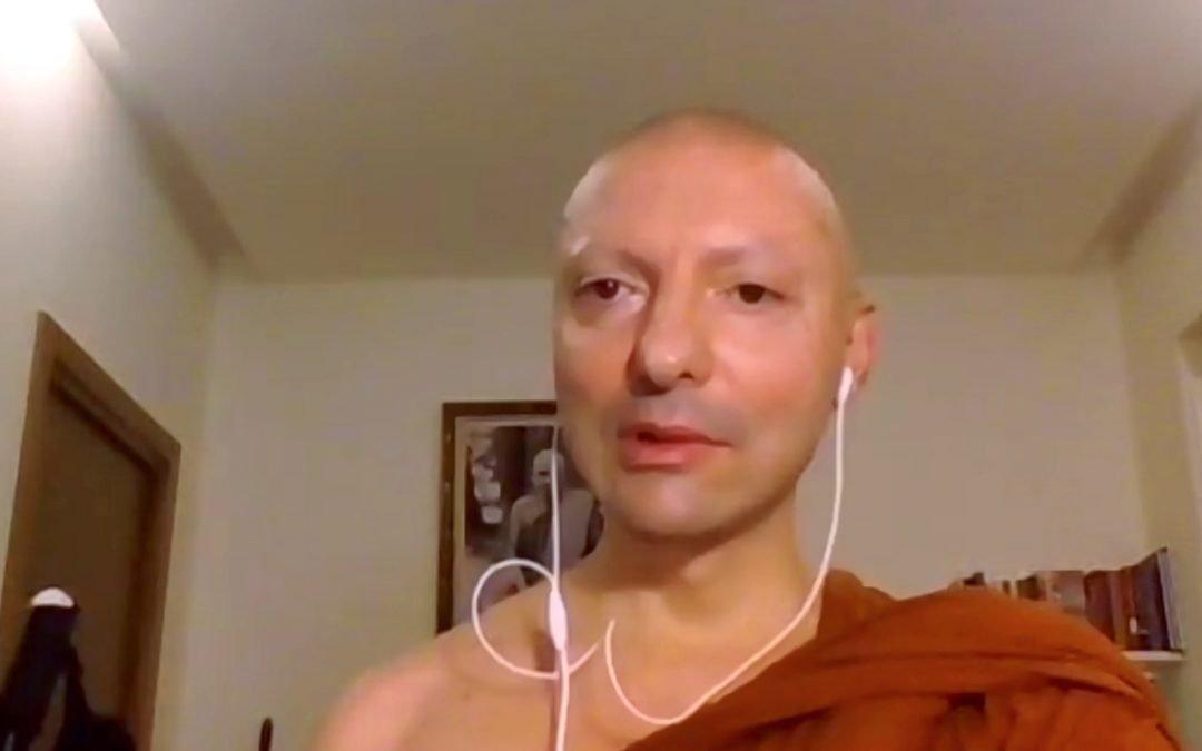 Ep. 162 Ajahn Mahapañño: riflessioni e risposte sulla pratica spirituale