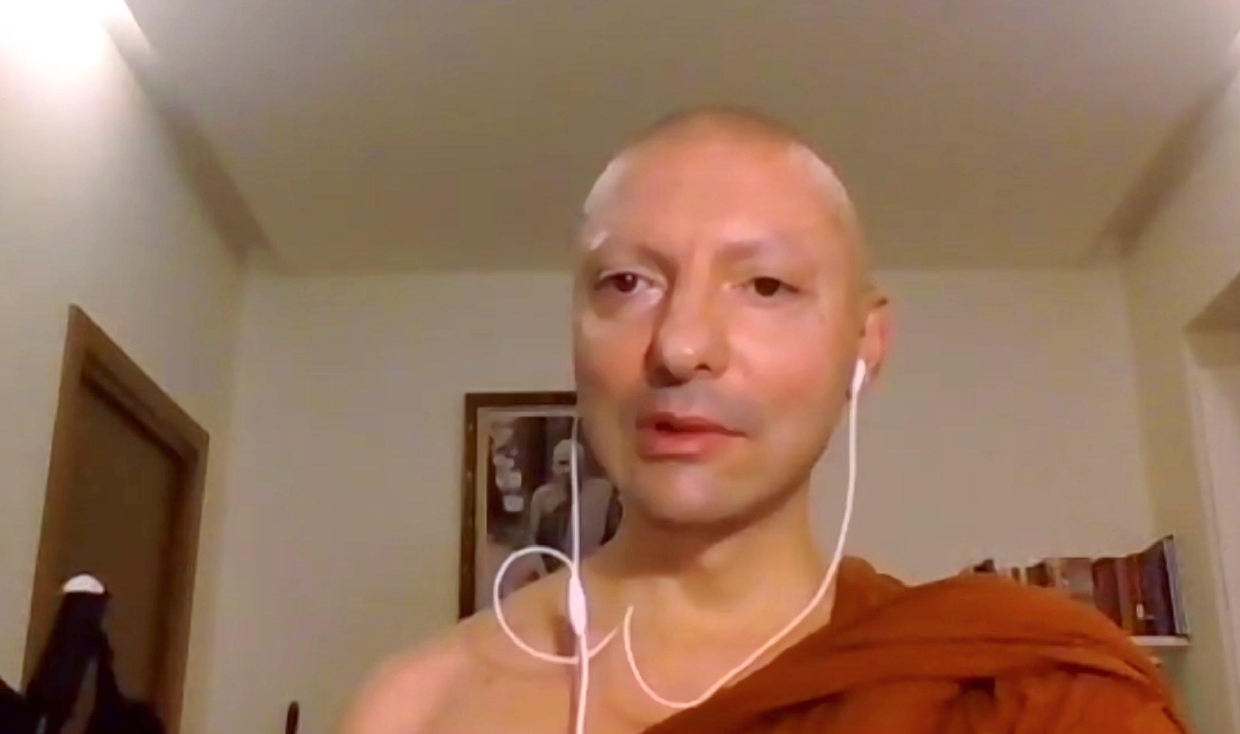 Ajahn Mahapañño: riflessioni e risposte sulla pratica spirituale